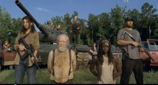 walking dead hershel dead